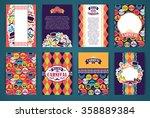celebration festive background... | Shutterstock .eps vector #358889384