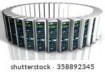 creative business web... | Shutterstock . vector #358892345