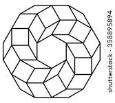 Cube Torus Illustration ...