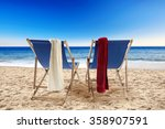 tropical space and space for... | Shutterstock . vector #358907591