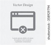 browser icon  vector...