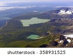 Small photo of Aerial View of a Remote Coastline on the Alaska Peninsula in Alaska