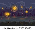 magic seamless landscape in... | Shutterstock .eps vector #358939625