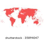 world map | Shutterstock . vector #35894047
