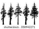 pacific northwest old growth... | Shutterstock . vector #358942271