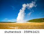 Errupting Old Faithful Geyser...