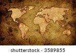 world map   Shutterstock . vector #3589855