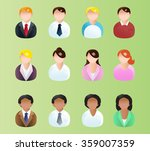 illustrations of variety... | Shutterstock . vector #359007359