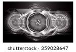 dark black color light abstract ... | Shutterstock .eps vector #359028647