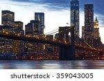 Brooklyn Bridge With Lower...