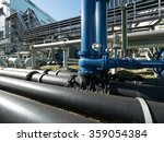 factory of pipeline | Shutterstock . vector #359054384