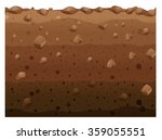 different layers of soil... | Shutterstock .eps vector #359055551