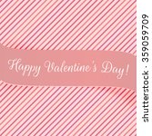 holiday pink banner for... | Shutterstock .eps vector #359059709