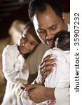 african american father with... | Shutterstock . vector #35907232