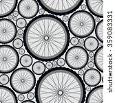 seamless pattern with bike...   Shutterstock .eps vector #359083331