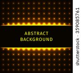 abstract lights gold forms on... | Shutterstock . vector #359085761