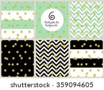 trendy gold glitter seamless... | Shutterstock . vector #359094605