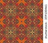 seamless abstract pattern  hand ... | Shutterstock .eps vector #359100461
