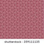 stylish pattern. seamless... | Shutterstock .eps vector #359111135