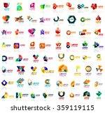 mega set of geometrical... | Shutterstock .eps vector #359119115
