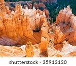 thor's hammer and queen... | Shutterstock . vector #35913130