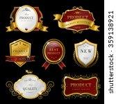 collection of graceful premium... | Shutterstock .eps vector #359138921
