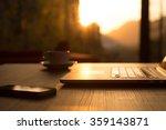 nomad work concept image... | Shutterstock . vector #359143871