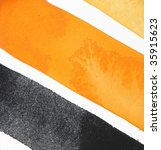 orange and black abstract paint ... | Shutterstock . vector #35915623