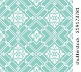 vector damask seamless pattern... | Shutterstock .eps vector #359173781