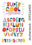 abc for kids   Shutterstock .eps vector #359216405