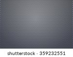 metal grill perforated matte... | Shutterstock .eps vector #359232551