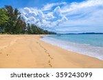 sandy beach at khao lak   Shutterstock . vector #359243099