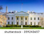 Washington  Dc At The White...