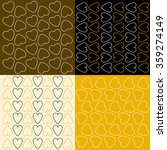 several patterns with outline... | Shutterstock .eps vector #359274149
