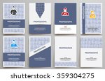 corporate identity vector... | Shutterstock .eps vector #359304275