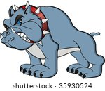 vector bulldog cartoon. very... | Shutterstock .eps vector #35930524
