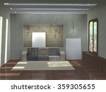 3d illustration of art interior ...   Shutterstock . vector #359305655