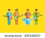 the image of rock musician ... | Shutterstock .eps vector #359330027