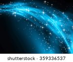snowflakes and stars descending ... | Shutterstock . vector #359336537