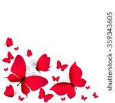 butterflies design | Shutterstock . vector #359343605