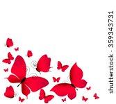 butterflies design | Shutterstock .eps vector #359343731