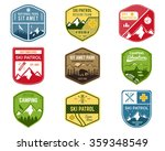 Set Of Ski Club  Patrol Labels...