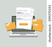 purchase order illustration...
