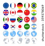 g20 country flags flat web... | Shutterstock .eps vector #359378069