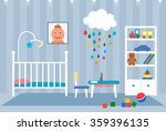 flat striking illustration of a ... | Shutterstock .eps vector #359396135
