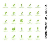 rocket icons set   isolated on... | Shutterstock .eps vector #359400815