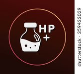 game energy hp icon