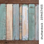 old color wood plank texture... | Shutterstock . vector #359457455