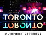 Stock photo night festival toronto 359458511