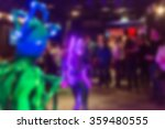 blur background of people at
